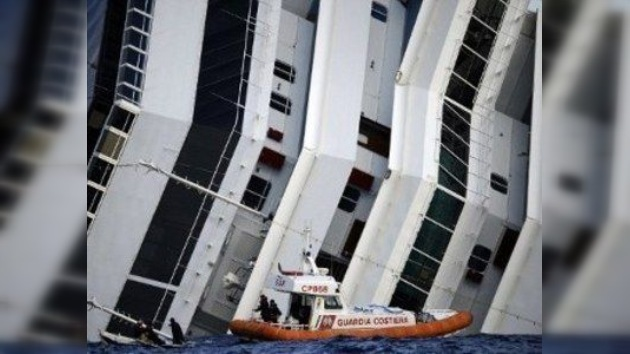 Italia decretará el estado de emergencia en la zona del hundimiento del Costa Concordia