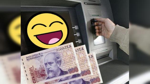 Un cajero generoso: le piden 20 pesos y entrega 100