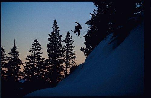 Snowboardistas en rutas no tradicionales, por Dean Blotto