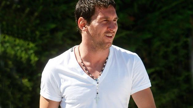 Messi realizó una peregrinación a un santuario católico en Bosnia