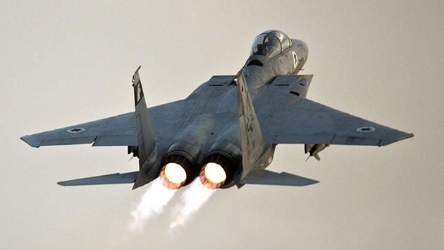 Israel ataca un objetivo situado en la frontera de Siria