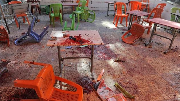 Video: Fuego de mortero deja varios muertos en la Universidad de Damasco