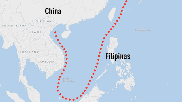 Filipinas demanda a China en La Haya por las fronteras marítimas
