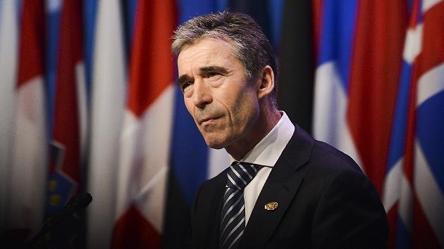 Rasmussen: La OTAN no intenta emprender una injerencia militar en Siria
