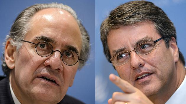 Herminio Blanco y Roberto Azevêdo