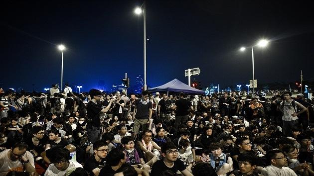"""""""Asunto interno"""": Pekín insta a Washington a no intervenir en la situación de Hong Kong"""