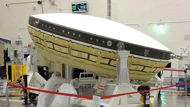 La NASA construye un 'platillo volante' para enviar a Marte