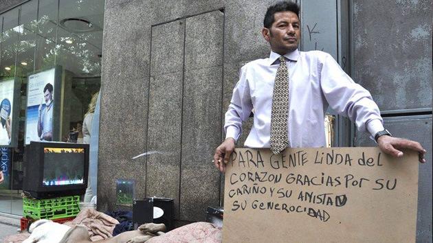 '¿Dónde está 'Pechito'?': Vida y muerte de un indigente que conmocionó a Argentina