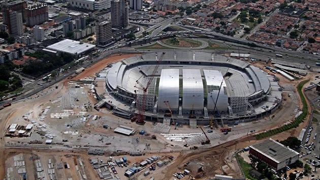 Brasil: Uno de los estadios del Mundial de fútbol 2014 puede convertirse en cárcel