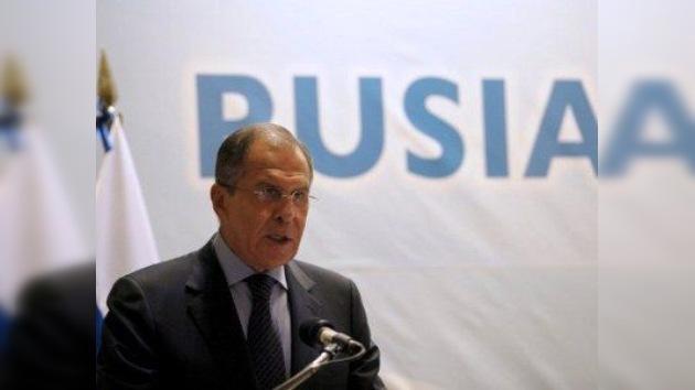 Lavrov: Rusia está lista para apoyar activamente el proceso político en Libia