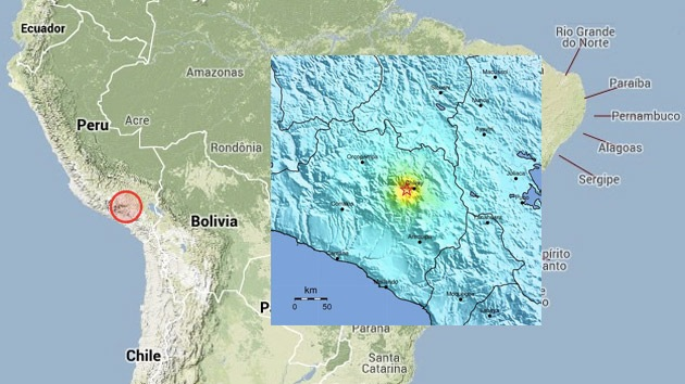 Un terremoto de 6,0 sacude Perú