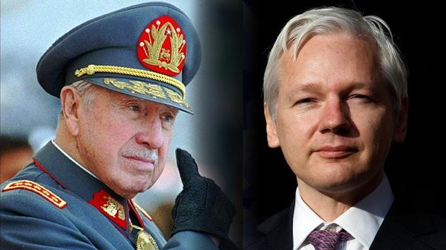 Correa denuncia la doble moral británica en los casos de Assange y Pinochet