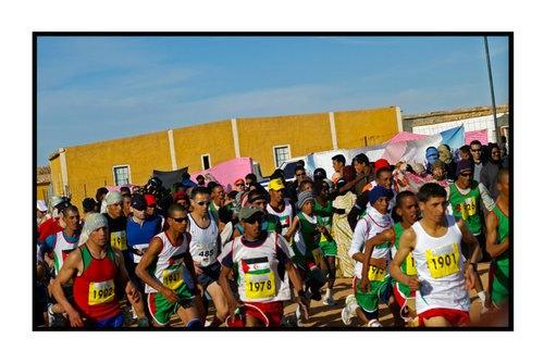 Un maratón de solidaridad con el pueblo saharaui