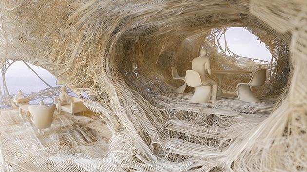 Fotos: Crearán una casa mediante impresora 3D para montarla en un día