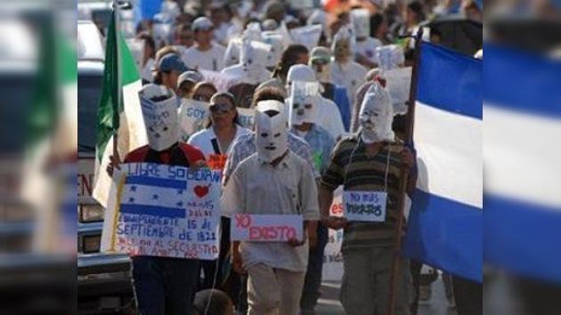 Emigrantes ilegales en México piden que cese la violencia contra ellos