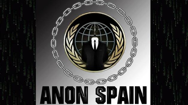Anonymous publicará archivos que desvelan la corrupción del Gobierno español