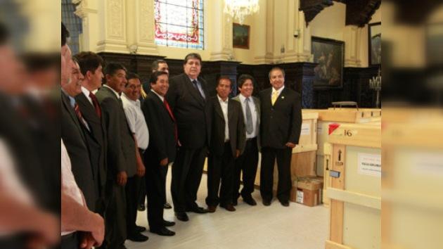 Primer lote de tesoros incas fue devuelto a Cuzco