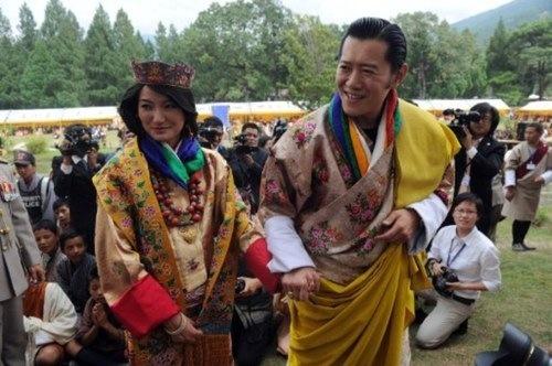 Año de bodas reales: esta vez le tocó al rey de Bután