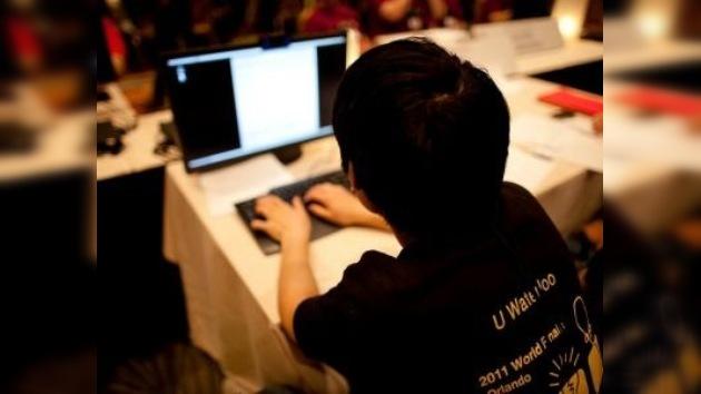 Jóvenes rusos compiten por el título de mejores programadores del mundo