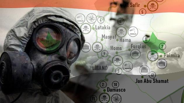 Plan de Siria: ¿Dónde están las armas químicas que hay que borrar del mapa?