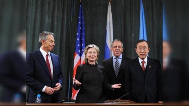 El Cuarteto para Oriente Medio se reúne en Moscú