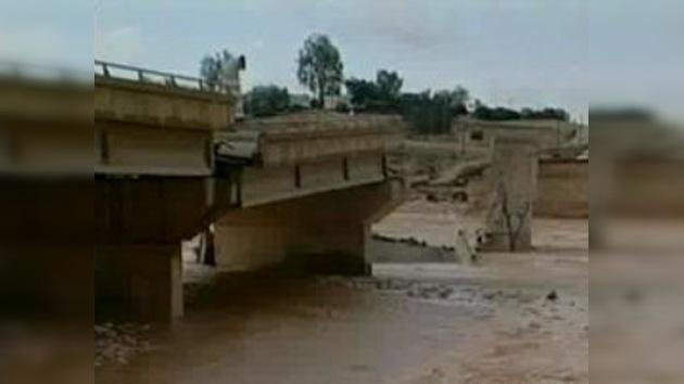 Al menos siete muertos por las lluvias torrenciales en Oriente Medio