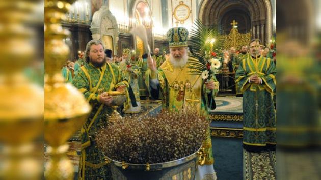 En Rusia se festeja el 'Domingo de Sauces'