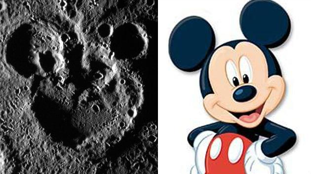 FOTO: Mickey Mouse 'identificado' en Mercurio