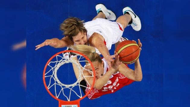 La selección femenina de Rusia pasó a la final del Eurobasket arrollando a República Checa
