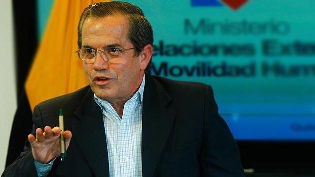 """Ricardo Patiño: """"No se puede vivir en una situación de espionaje permanente"""""""