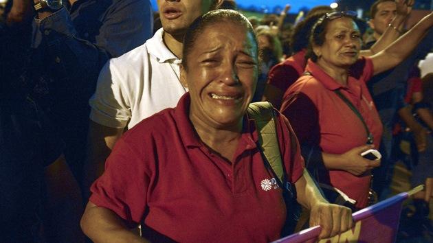 Llanto por Chávez: La congoja sale a las calles de Caracas