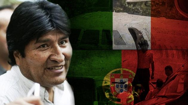 Italia y Portugal piden disculpas a Bolivia por el bloqueo aéreo al avión de Evo Morales