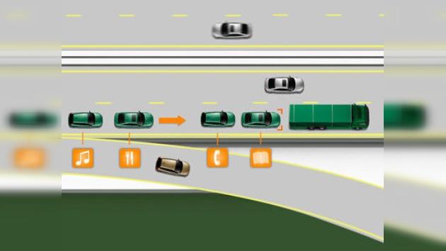 Volvo crea un sistema de autoguía en carreteras