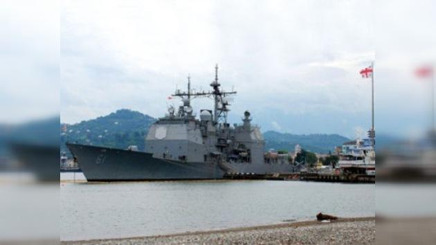 Rusia denuncia el atraque de un buque antimisiles de EE. UU. en Georgia