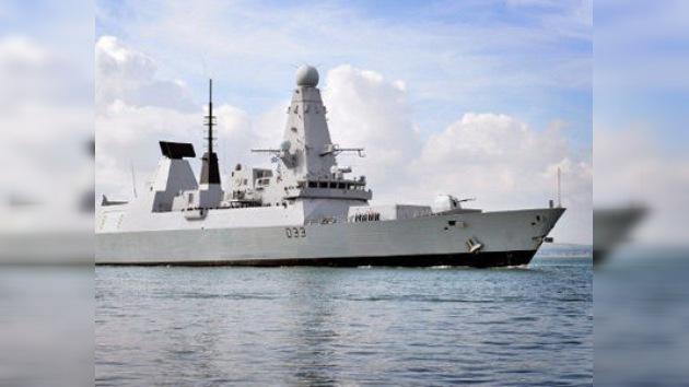 Promesa cumplida: un destructor británico zarpa rumbo a las Malvinas