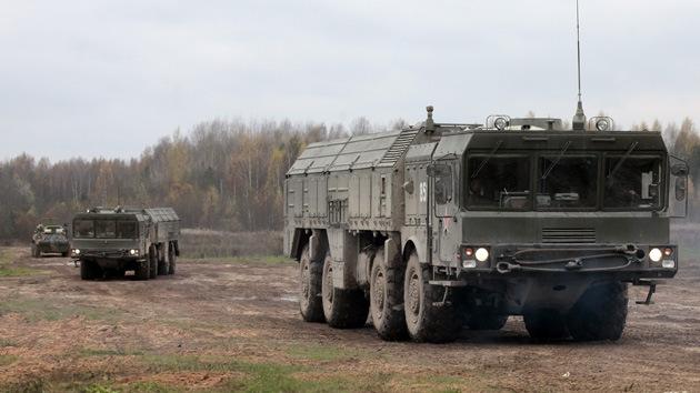 Rusia realizará maniobras con su sistema de misiles Iskander en el oeste del país