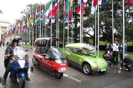 La vuelta al mundo en coches eléctricos