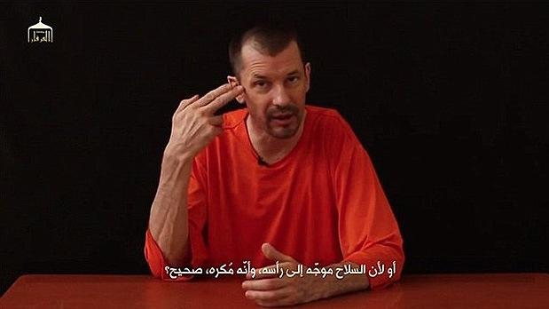 """Rehén del Estado Islámico: """"Soy ciudadano británico y mi Gobierno me abandonó"""""""