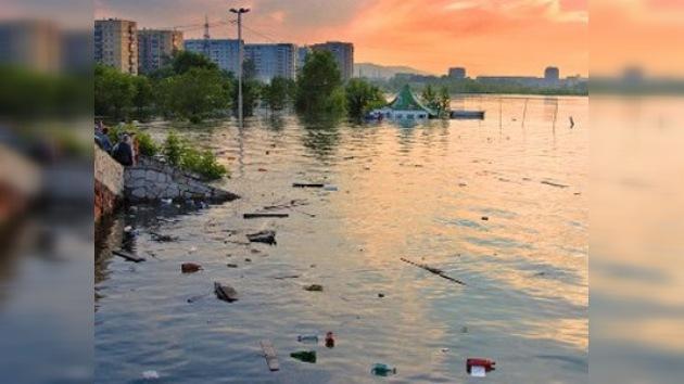Trece muertos en una grave inundación en el sur de Rusia