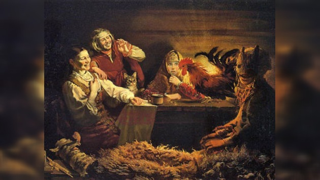 Las adivinaciones navideñas rusas