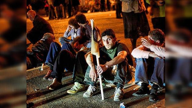 Violentos enfrentamientos en Georgia derivan en un nuevo 'Día de la Ira'