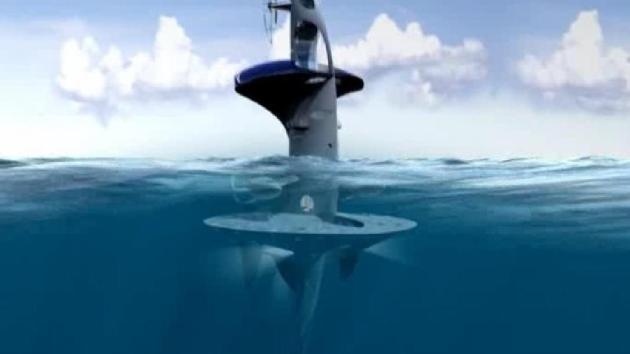 Un 'OVNI' flotará en el Mediterráneo a partir del 2013