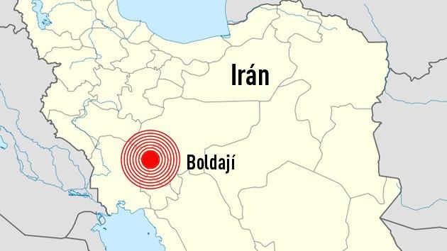 Registran un potente sismo en el centro de Irán