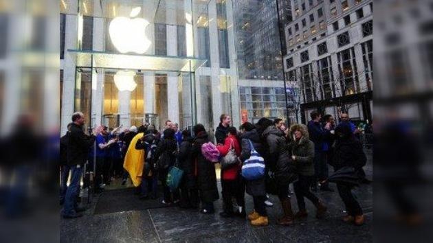 El sueño de su vida truncado entre los fanáticos del iPad
