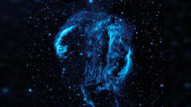 Descubren una cabeza humana gigante en el espacio