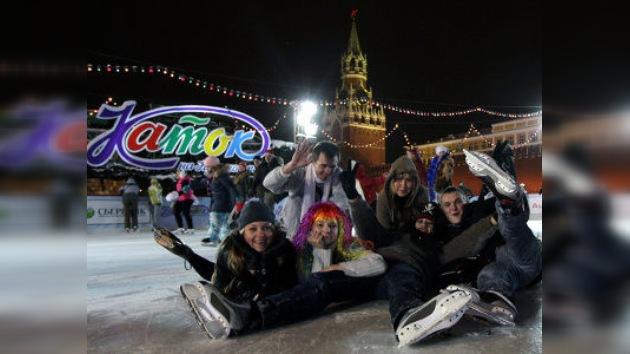 Nochevieja en Moscú
