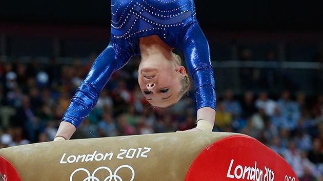 Londres 2012: La gimnasta rusa Paseka consigue la medalla de bronce