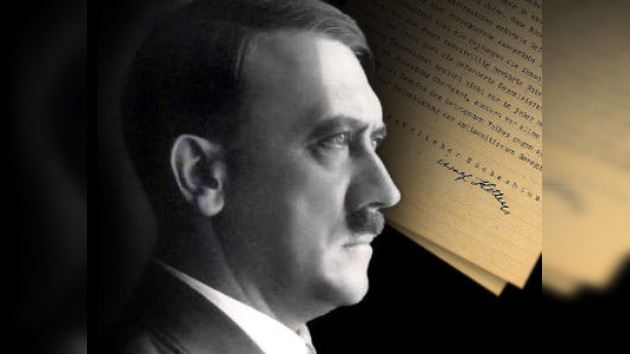 Cuatro páginas de antisemitismo Hitleriano presentadas en Nueva York