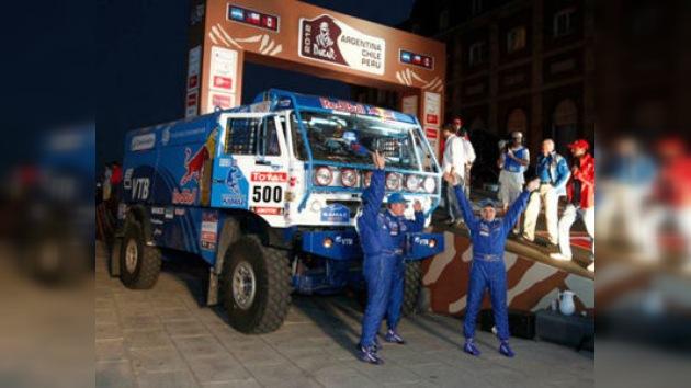 Kamaz Master recibe con entusiasmo las novedades del Dakar 2012
