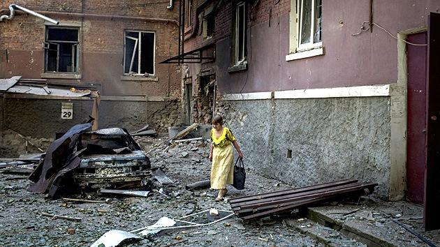 """""""El uso de misiles balísticos en el este de Ucrania es un crimen de guerra"""""""